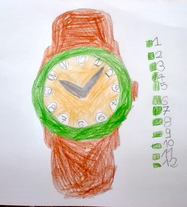 I numeri nell'orologio (Lorenzo)