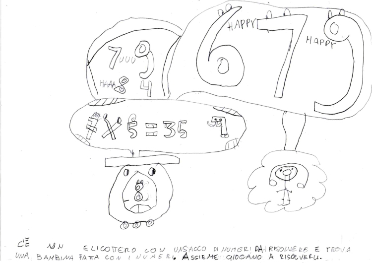 Elicottero e numeri (Vittoria)