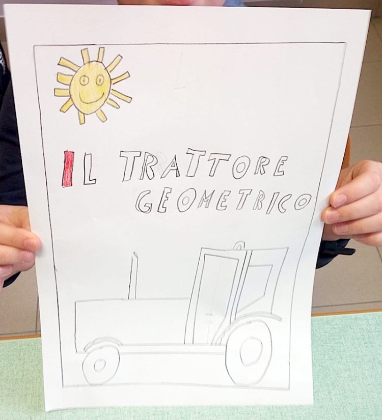 Il trattore geometrico (Alex)
